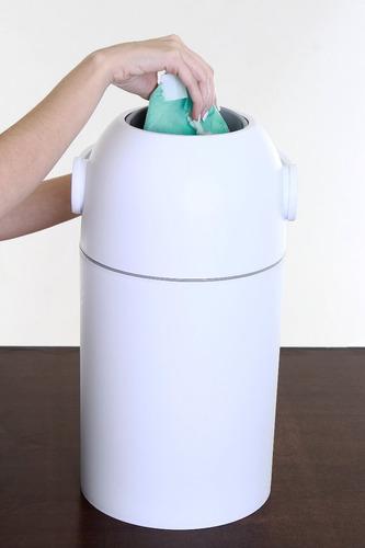 lixo mágico bebês anti-odor até 25 fraldas - kababy