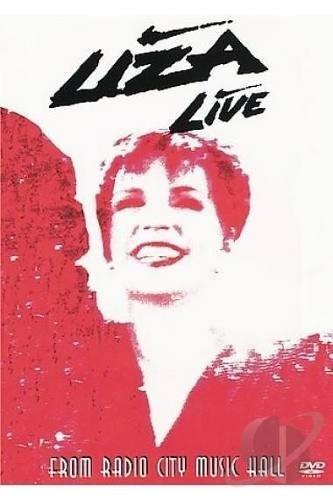 liza minneli live from radio city music hall dvd lacrado