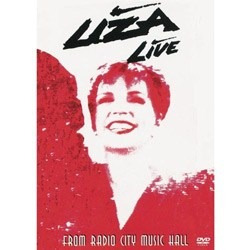 liza minnelli live from radio city music hall dvd