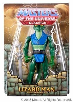 lizard man  masters of the universe classics mattycollector