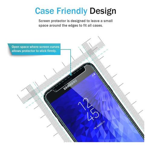 lk 3 pack protector de pantalla para samsung galaxy j7 afina