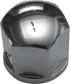 lkj26 - capa de parafuso cromada 17mm 16 pças