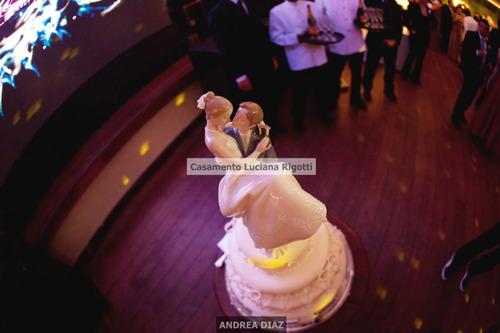 lladro noivinhos topo de bolo happiest day