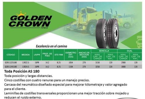 llanta 11r22.5 tracción golden crown promoción