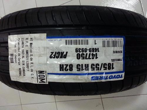 llanta 185/55/15 toyo  original aveo 100% nueva