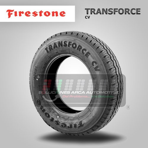 llanta 195 r15 firestone transforce cv 106  104r