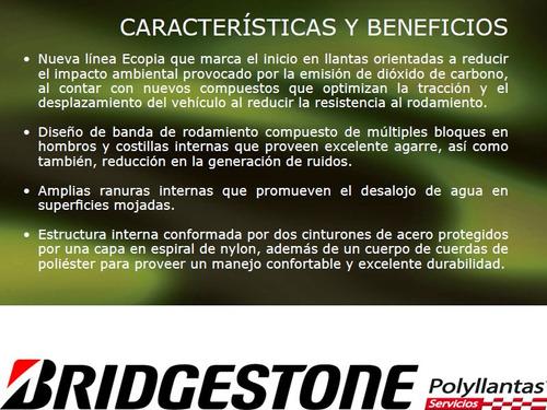 llanta 205/60r16 bridgestone ecopia ep422, pago contado