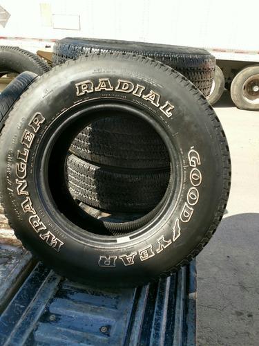 llanta 225/75r15 goodyear radial seminueva