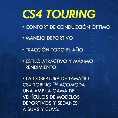 llanta 255/65 r18 cooper cs4 touring blem 109h