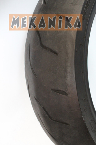 llanta bridgestone battlax 180-50 r17 usada. mekanika