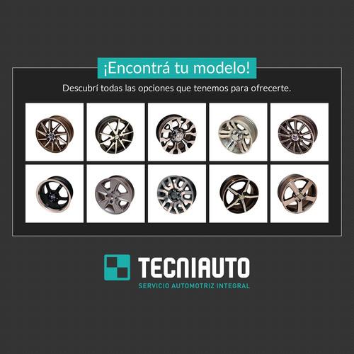 llanta de aleación ruedas argentinas rodado 13 4x100 v-10/a
