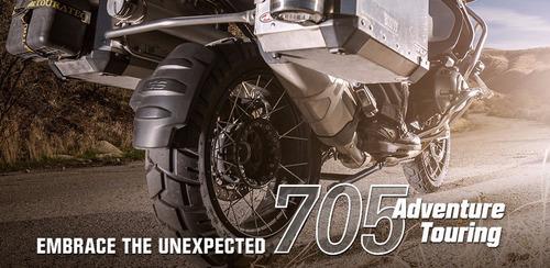 llanta de moto 150/70r17 shinko 705 radial doble proposito