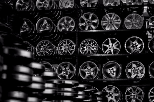 llanta deportiva  rodado 15x7 5x139 ford f100 negra perlado