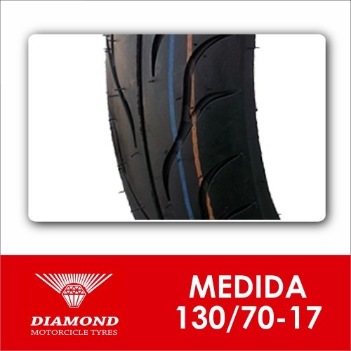 llanta diamond d-614 130/70-17 sellomática (1146)