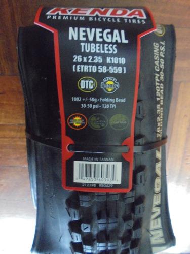 llanta kenda nevegalpro 26   y 27.5   x 2.35 kevlar tubeless