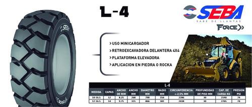 llanta maquinaria minucargador retro 12x16.5 (14) l4 seba