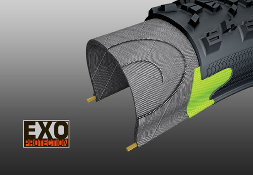 llanta maxxis minion dhr ii 27.5x2.30 3c exo tubeless