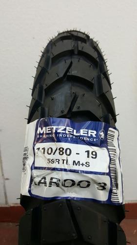 llanta metzeler karoo 3 110/80-19 59r tl m+s rider one