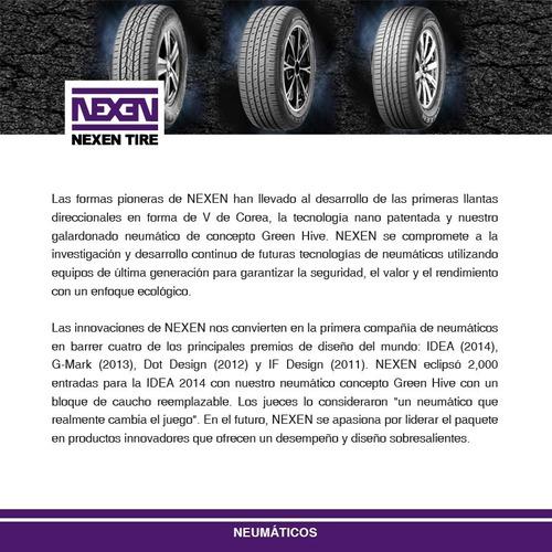 llanta nexen 205/55r16 cp661 91v