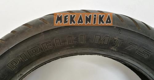 llanta pirelli mt45 130-80-r17 usada. mekanika