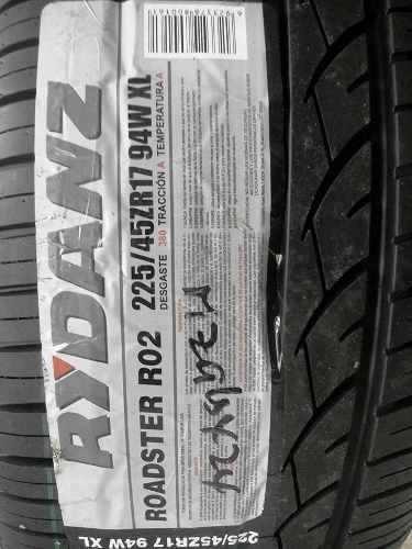 llanta rydanz 225 45 17 roadster r02 volkswagen golf jetta