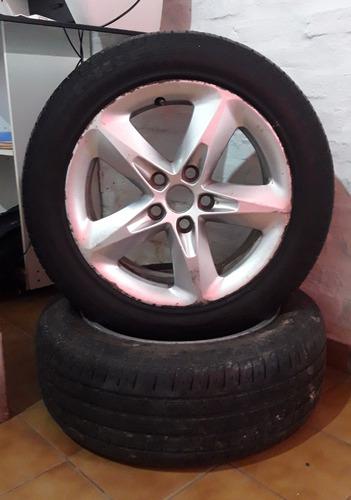 llantas de magnesio de ford focus con cubiertas pirelli