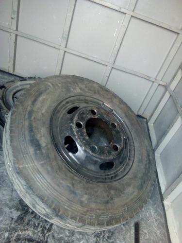 llantas para camioncito hyundai o similar 5 huecos