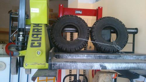 llantas para montacargas, patin hidraulico, reach