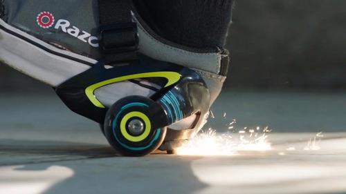 llantas razor para talón tipo patines que sacan chispas