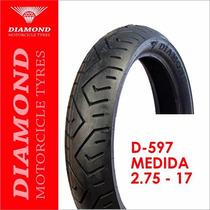Llanta Diamond D-597 2.75 - 17 Sellomática (1136)