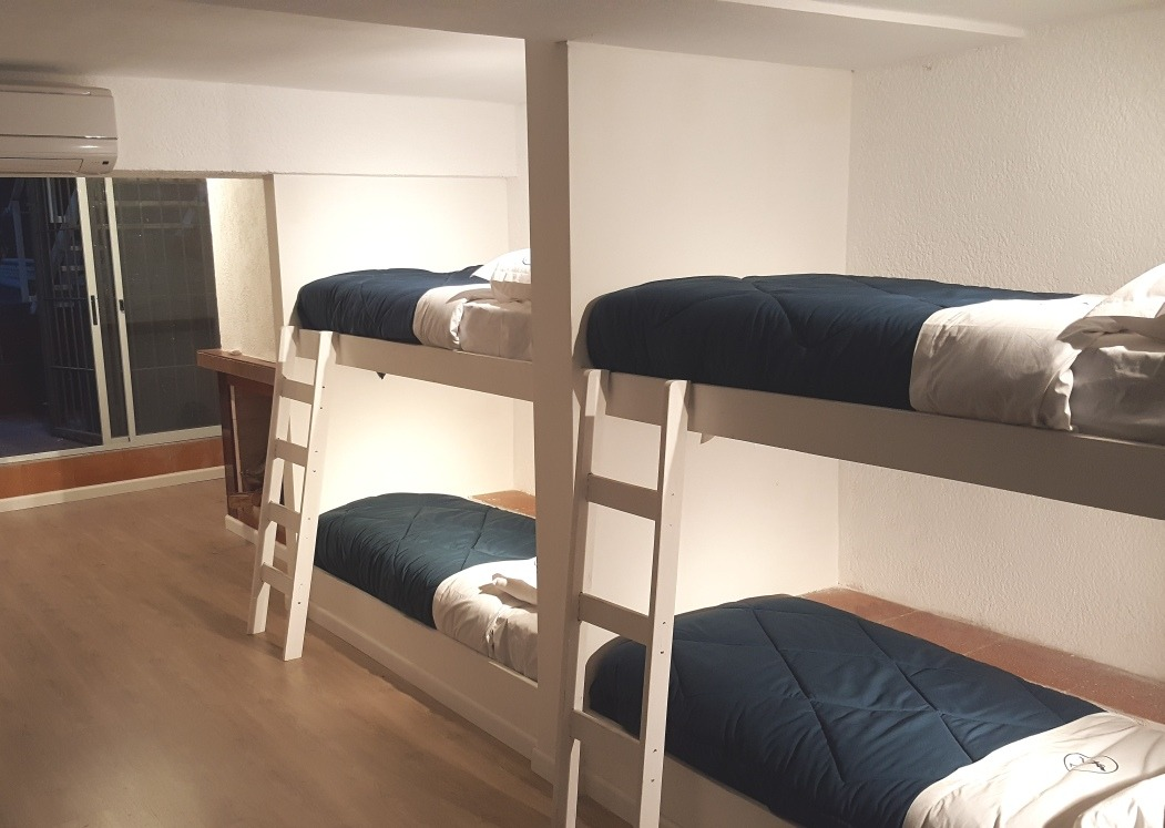 llave 2 hostels en pocitos