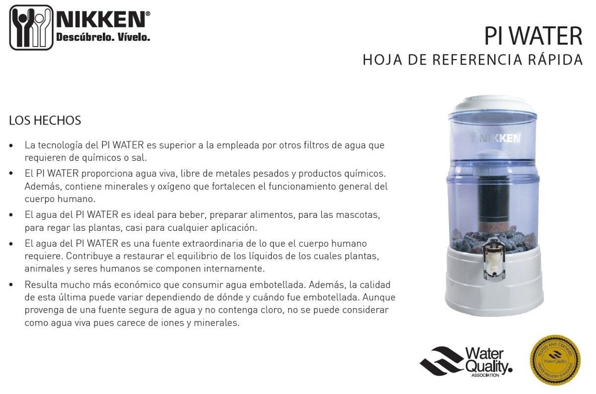 Llave Agua Y Tubo Magn 233 Tico P Purificador Pi Water Nikken