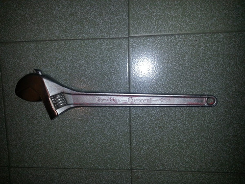 llave ajustable de 18  marca crescent usa