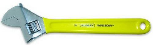 llave ajustable profesional stanley 18  (95 libras) 87-796