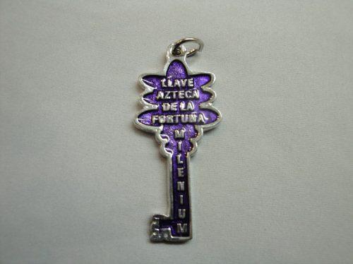 llave azteca de la fortuna 5 cm