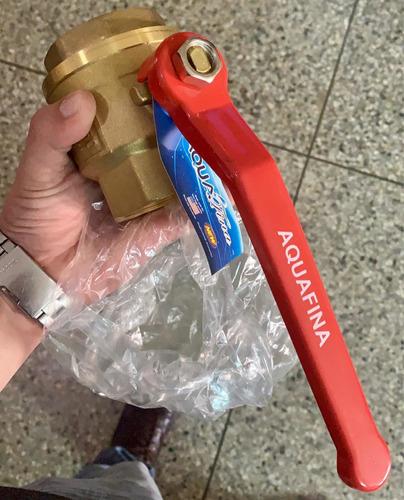 llave bronce bola 2 pulgada somos tienda fisica -