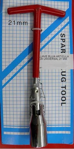 llave bujia articulada universal 21 mm
