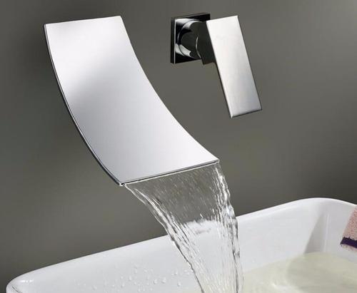 llave cascada baño, tina mezcladora monomando pared 8-12dias