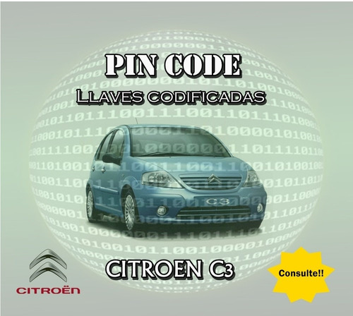 llave codificada citroen c3 c4 xsara piccaso berlingo desde