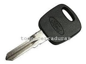 llave codificada para ford fiesta max   hasta el 2011