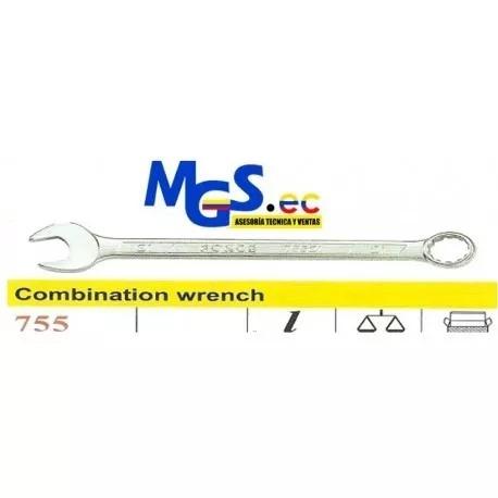 llave combinacion acero cromo vanadio 25mm marca force