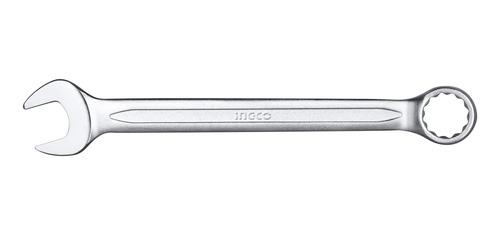 llave combinada boca y estriada 19 mm cr-v ingco hcspa191