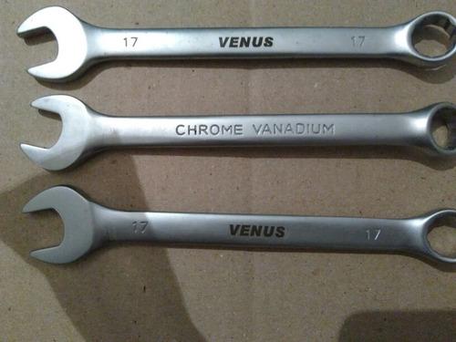 llave  combinada  chrome vanadium 17 mm