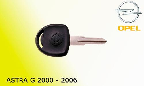 llave con chip opel astra g 2000 a 2006