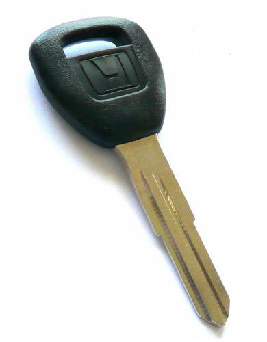 llave con chip transponder - honda odyssey