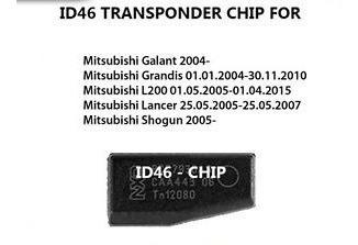 llave control mitsubishi nativa 433 mhz chip id46