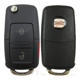 Llave Control Seat Ibiza 02-08 3 Botones Envio Express