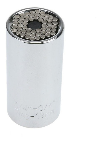 llave copa universal gator grip + ratchet (3 piezas)