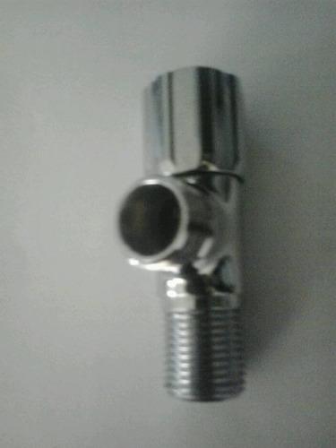 llave de arresto de 1/2 macho pesada marca jomoo