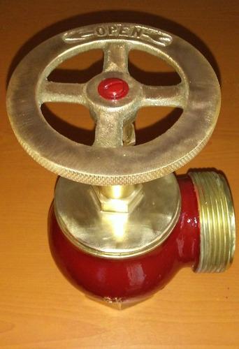 llave de bronce contra incendio de 2 1/2 pulgadas